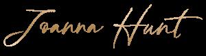joanna hunt logo gold