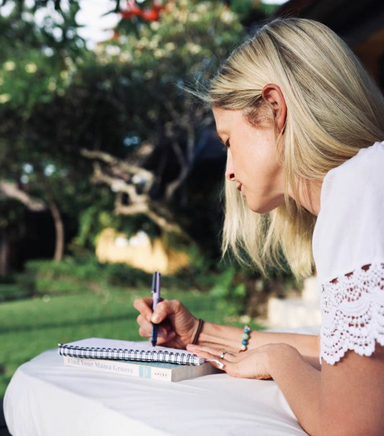 joanna hunt writing in journal