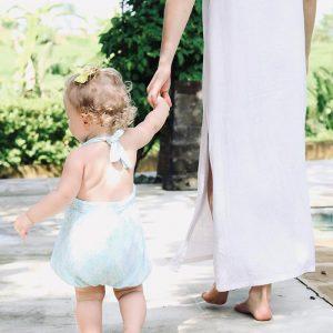 joanna hunt holding baby hand